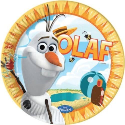 Olaf plates 23 cm