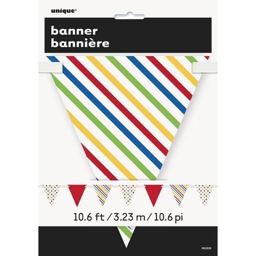 Bold flag banner
