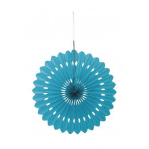 Decorative caribbean teal fan