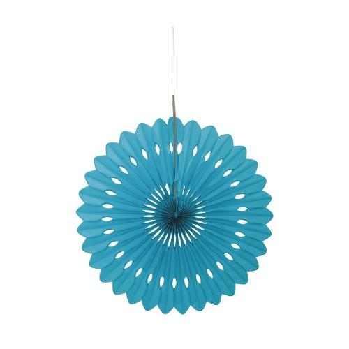 Turkizna dekorativna pahljača