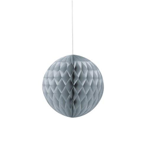 Silver honeycomb ball