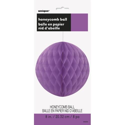 Pretty purple honeycomb ball