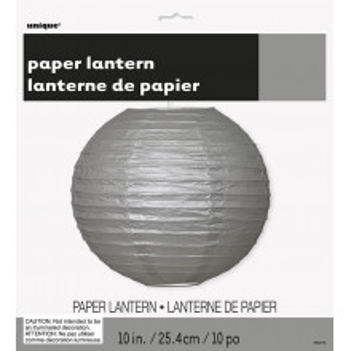Silver lampion 25 cm