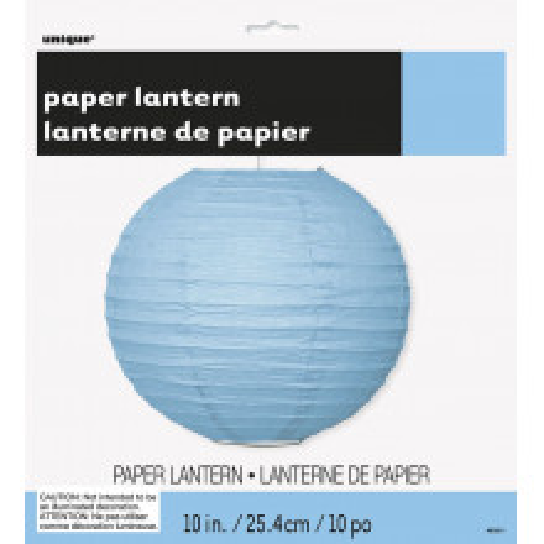 Powder blue lampion 25 cm
