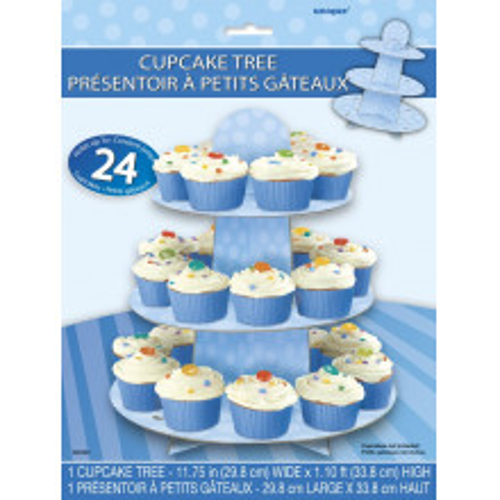 Muffin Etagere - blau