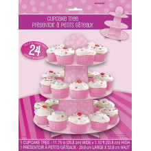 Muffin Etagere - pink