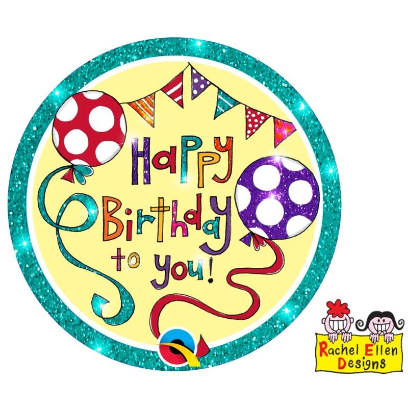Rachel Ellen Happy Birthday zelena priponka