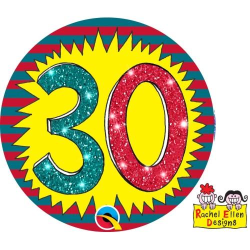 Rachel Ellen 30 badge