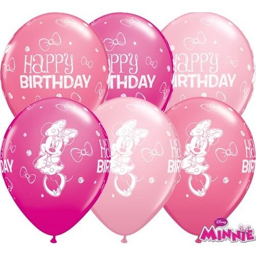 Ballon Minnie Mouse Bday