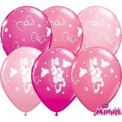 Lateks Balon 28 cm - Minnie Mouse