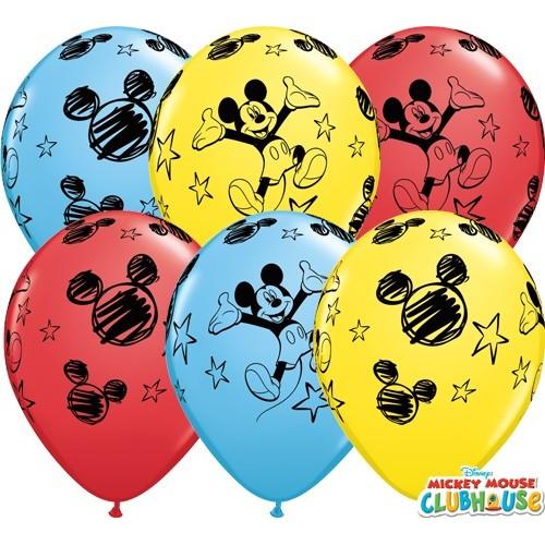 Balon od lateksa 28 cm - Mickey Mouse