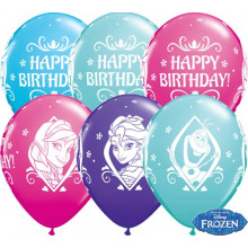 Balon zamrznut bday