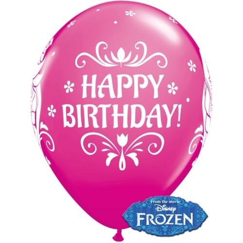 Ballon Frozen Bday