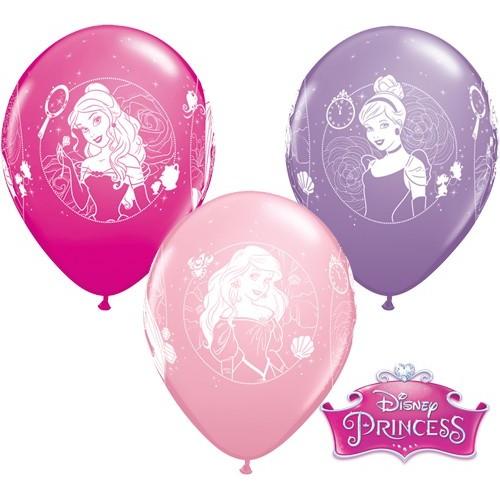 Latex Balloon - Princess Cameos