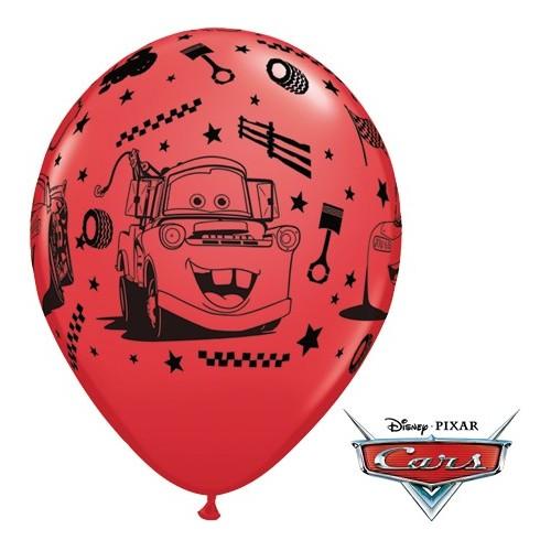 Lateks Balon 28 cm - Lightning Mcqueen & Mater