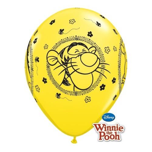 Lateks Balon 28 cm - Winnie The Pooh Characters