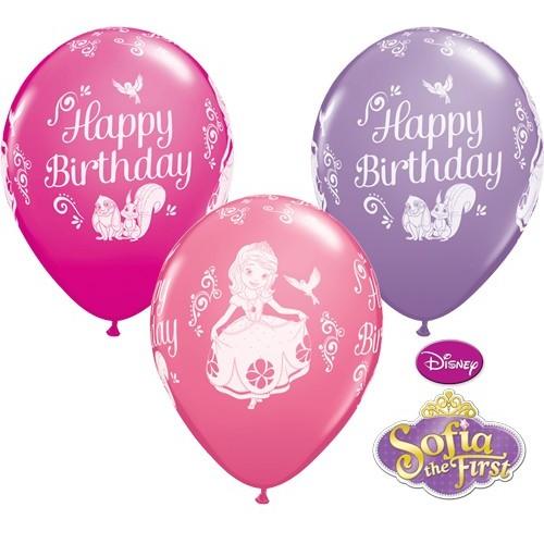 Balloon Sofia The First Bday