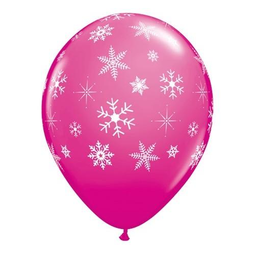 Balloon wild berry Snowflakes & Sparkles