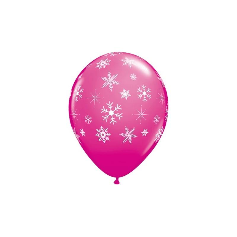 Balon wild berry Snowflakes & Sparkles