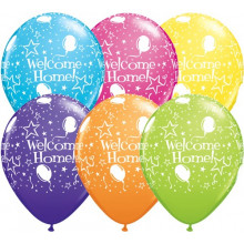 Balon Welcome home