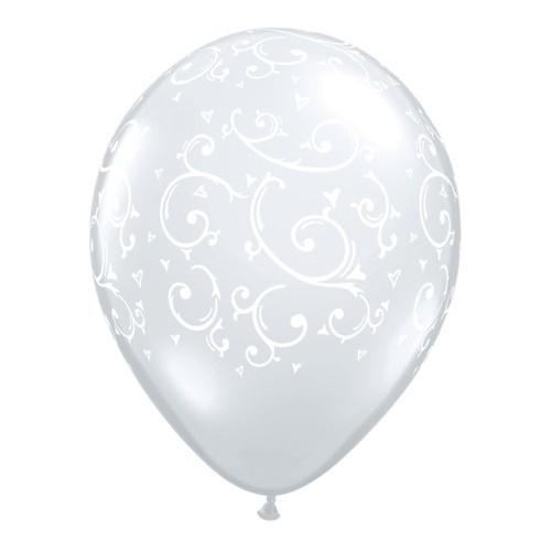 Balon Filigree & Hearts