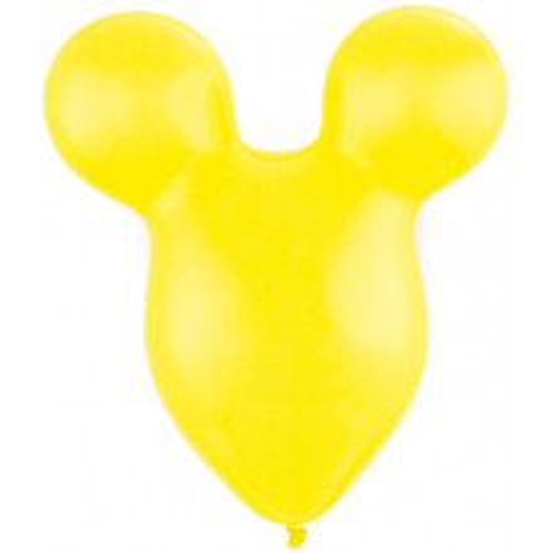 Balloon Mousehead - yellow