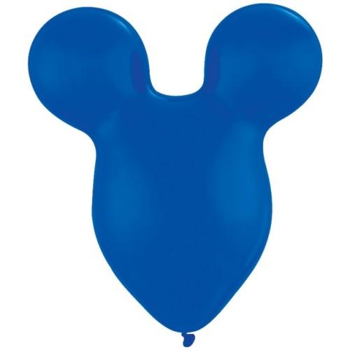 Balloon Mousehead - sapphire blue