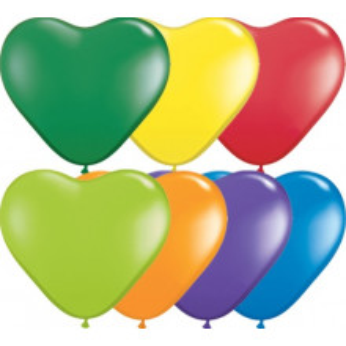 "Balloon heart 6"" - carnival ass."