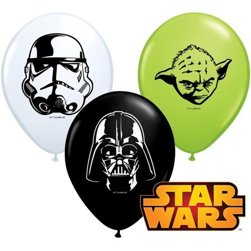 Lateks Balon 13 cm - Star Wars