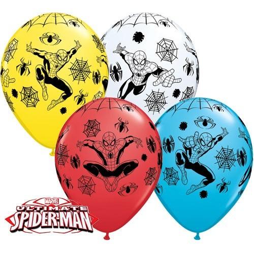 Balon od lateksa 28 cm - Spider-Man