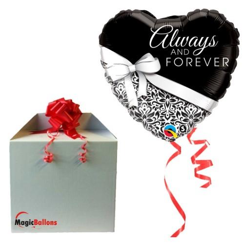 Always and Forever - folija balon v paketu