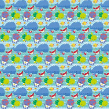 Under the sea pals gift wrap