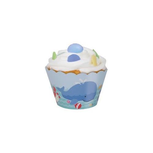 Under the sea pals cupcake wrap