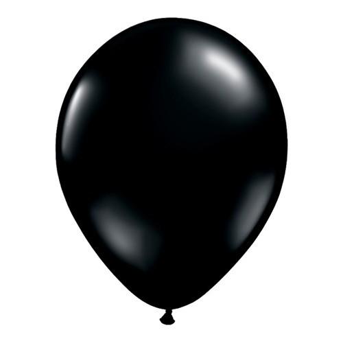 """Balloons 5"""" - onyx black"""