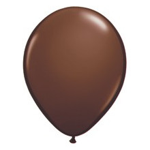 """Balloons 5"""" - chocolate brown"""