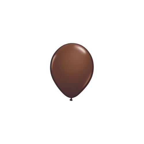 Balon 13 cm - čokoladno rjava