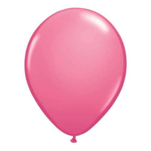 Balon 13 cm - temno roza