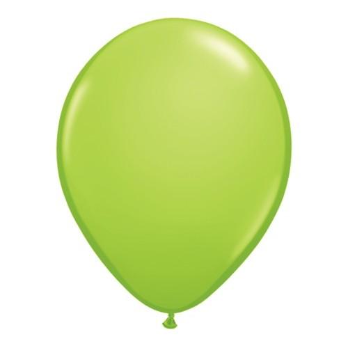 "Balloons 5"" - lime green"