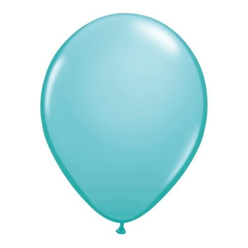 Balon 13 cm - karibsko modra