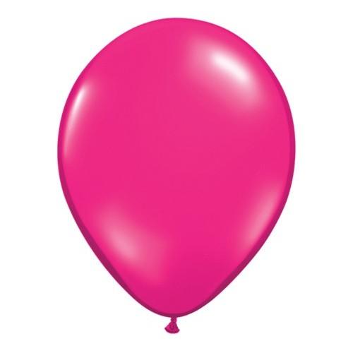 "Balloons 5"" - jewel magenta"