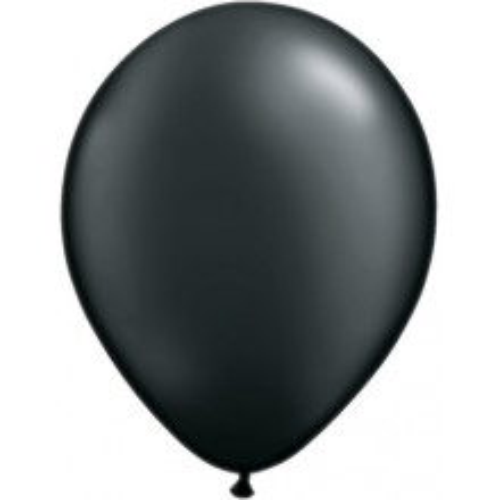 "Balloons 5"" - pearl onyx black"