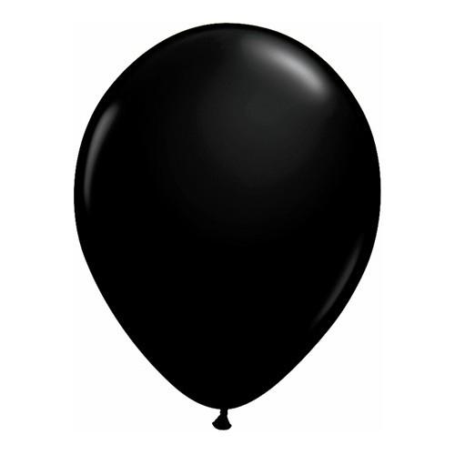 """Balloons 11"""" - onyx black"""