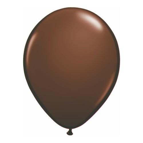 Balon 28 cm - čokoladno rjava