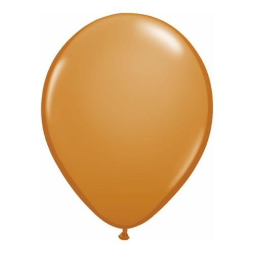 "Balloons 11"" - mocha brown"
