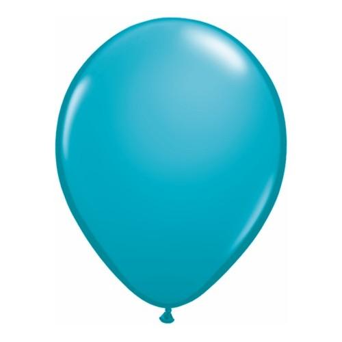 "Balloons 11"" - tropical teal"