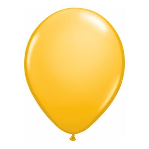 """Balloons 11"""" - goldenrod"""