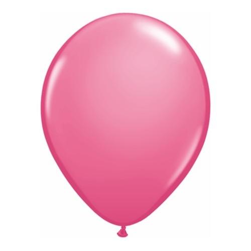 Balon 28 cm - temno roza