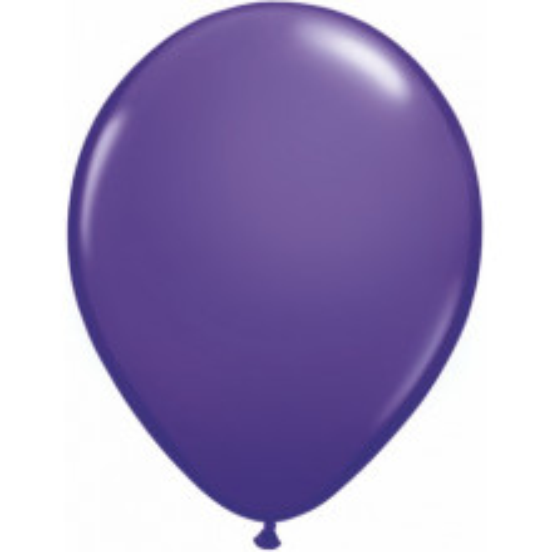 "Balloons 11"" - purple violet"