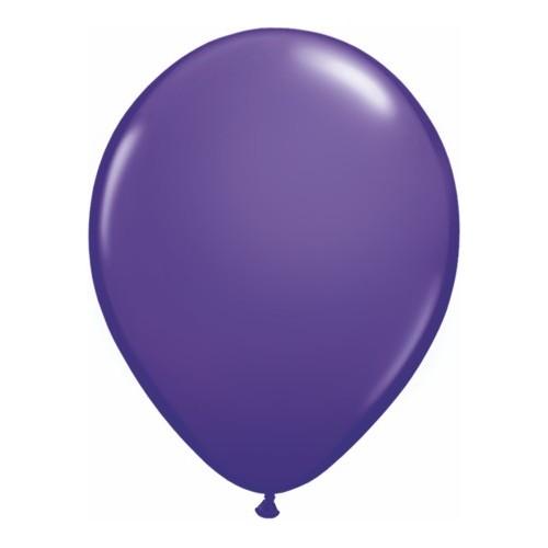 Balon 28 cm - temno vijolična