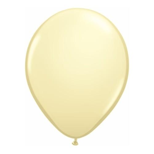Balon 28 cm - krem